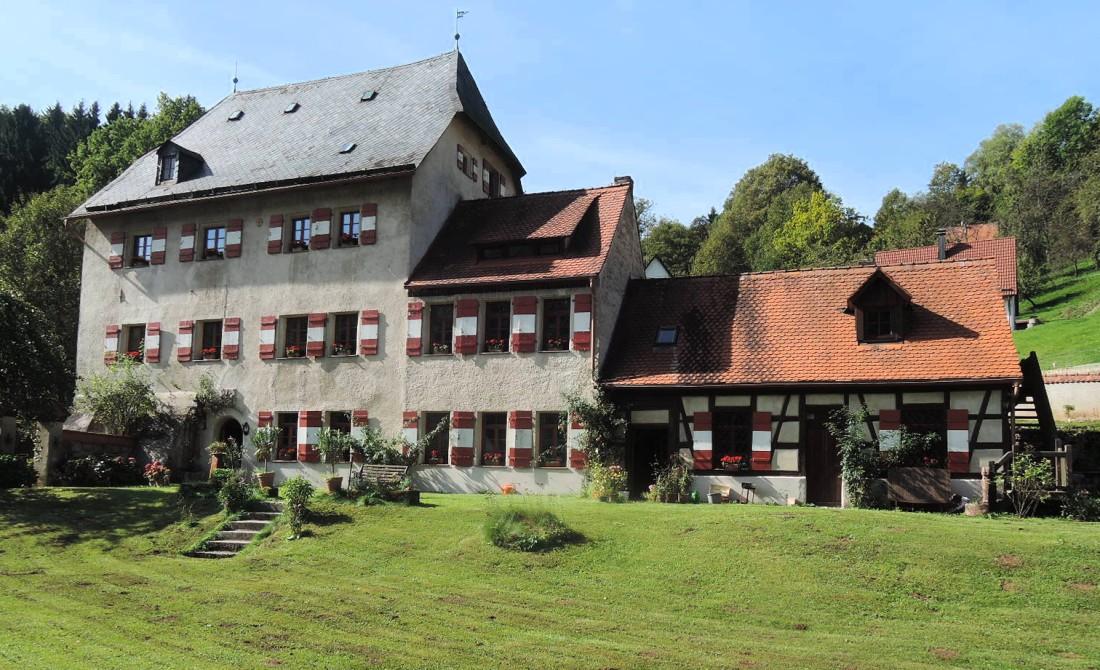 En casa de un amigo, cerca de Bamberg