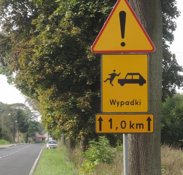 Una de esas graciosas señales polacas