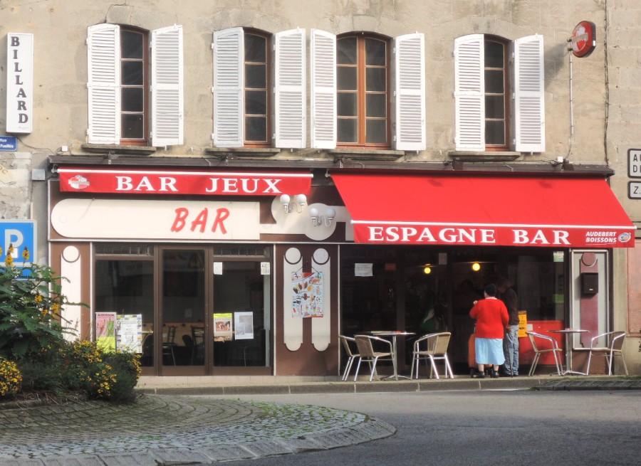 Bar Espagne en la plaza Espagne