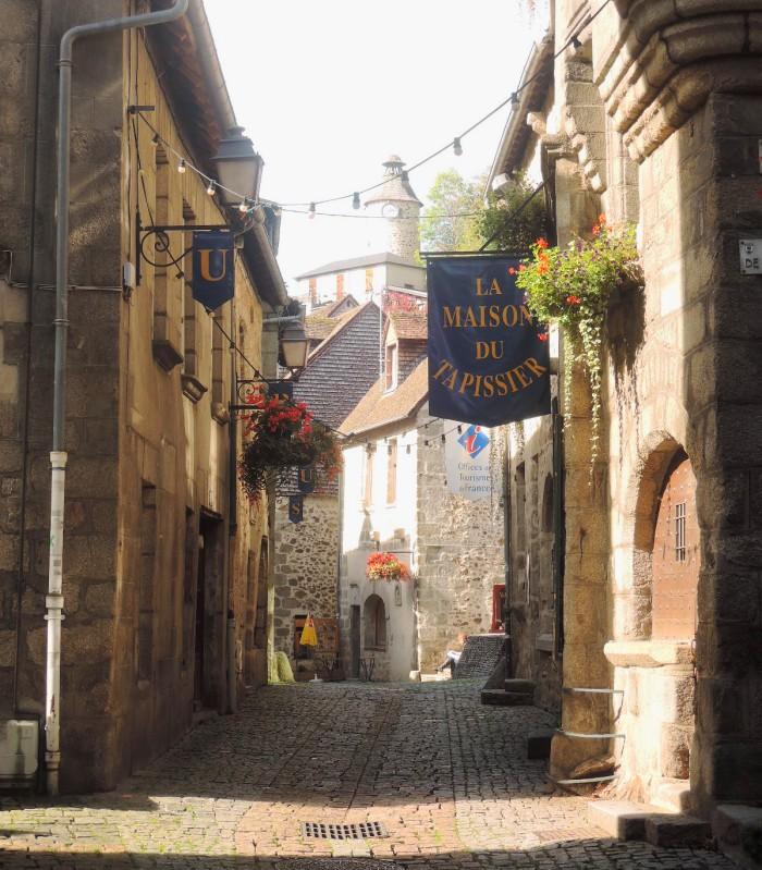 Una calle de Aubusson