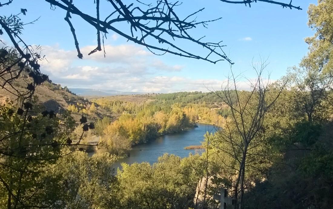 La curva de ballesta que traza el Duero en torno a Soria