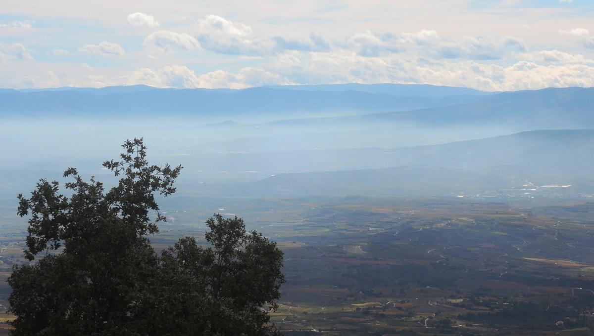 La Rioja vista desde el alto de Herrera
