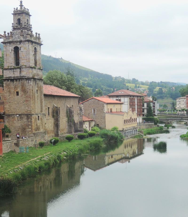 Río Cadagua a su paso por Valmaseda