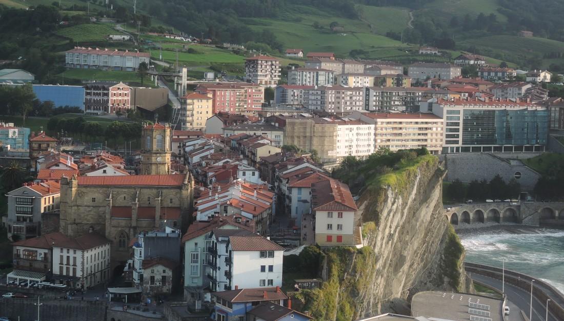 Guetaria desde el monte San Antón